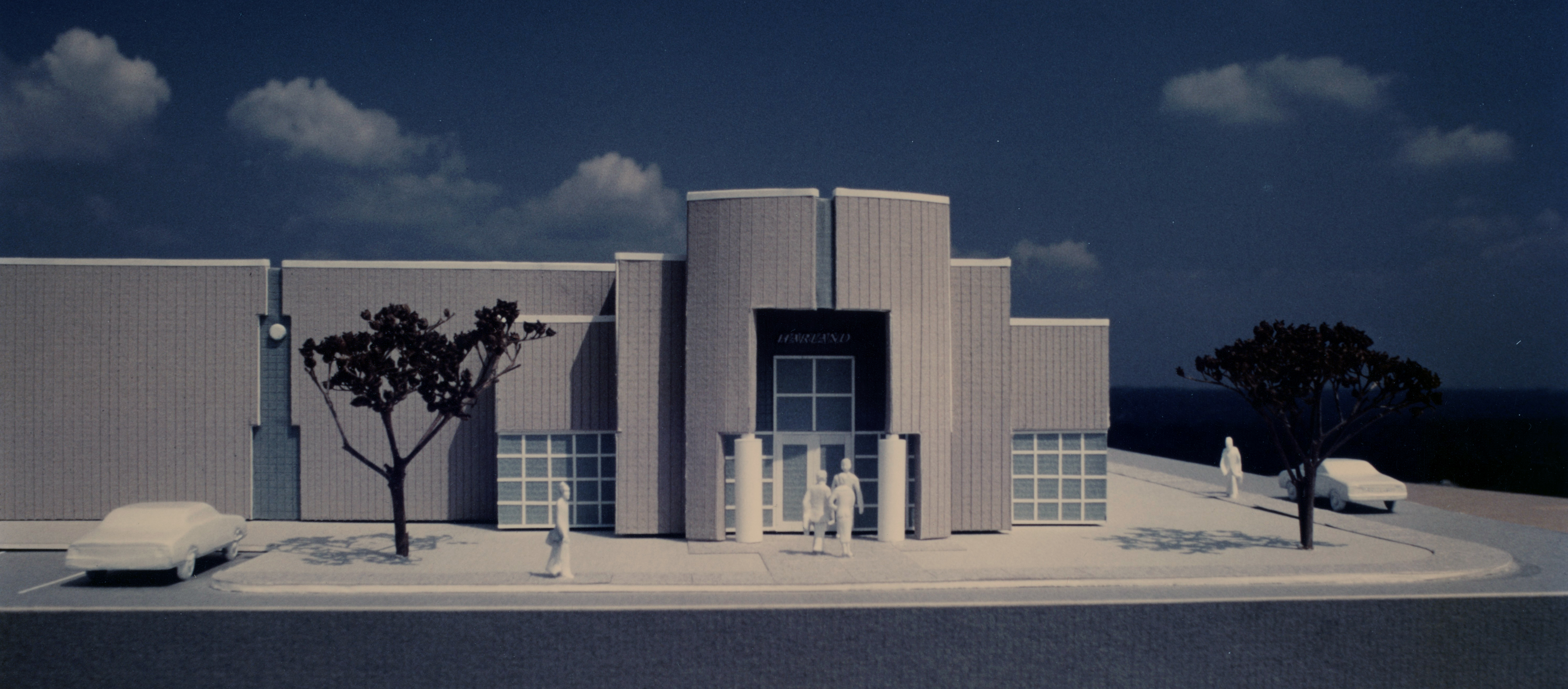 Harland Miami concept model view 4