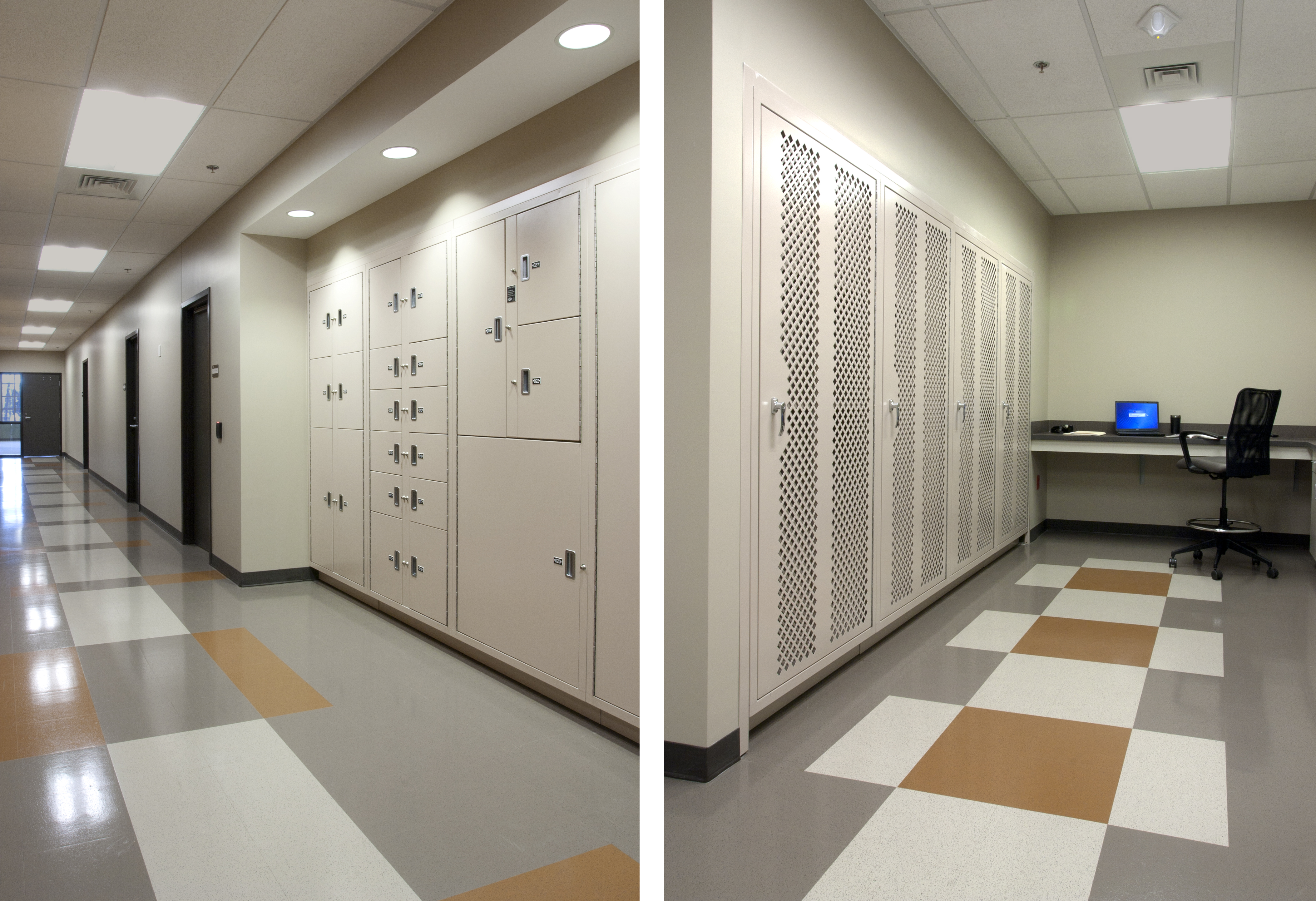 Snellville PoliceHQ_evidence lockers