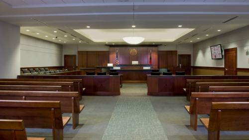 Cobb County Superior Courthouse Interiors - POH Architects